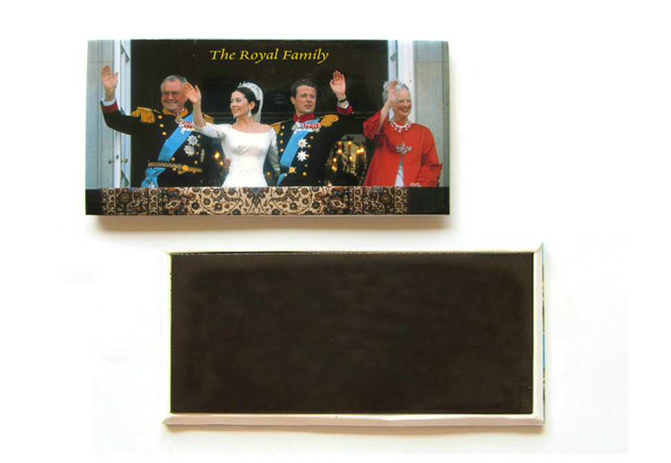 120x58MM Iron fridge magnet
