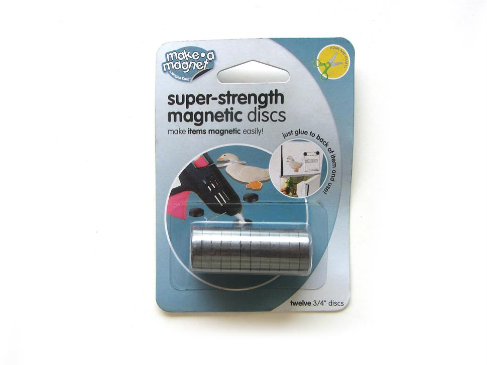 Strong ferrite magnet button set