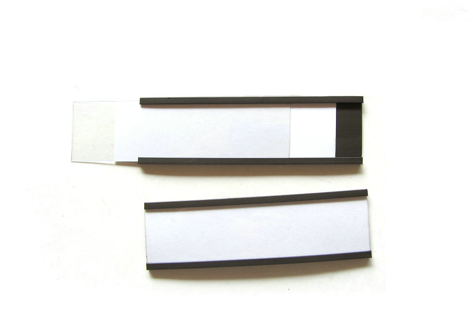 Magnetic C-profile strip