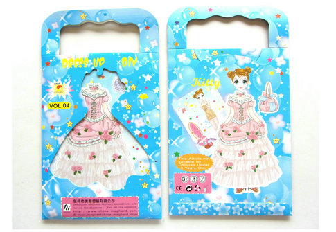 Magnetic dress up toys